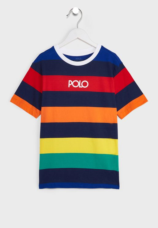 Youth Striped T-Shirt