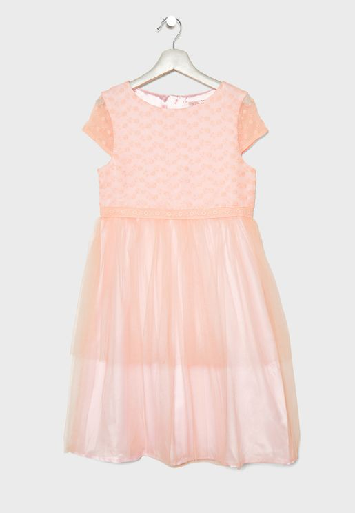 Kids Emmylou Layered Dress