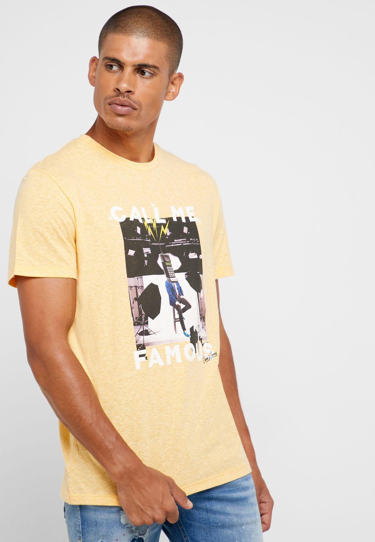 Fabian Crew Neck T- Shirt