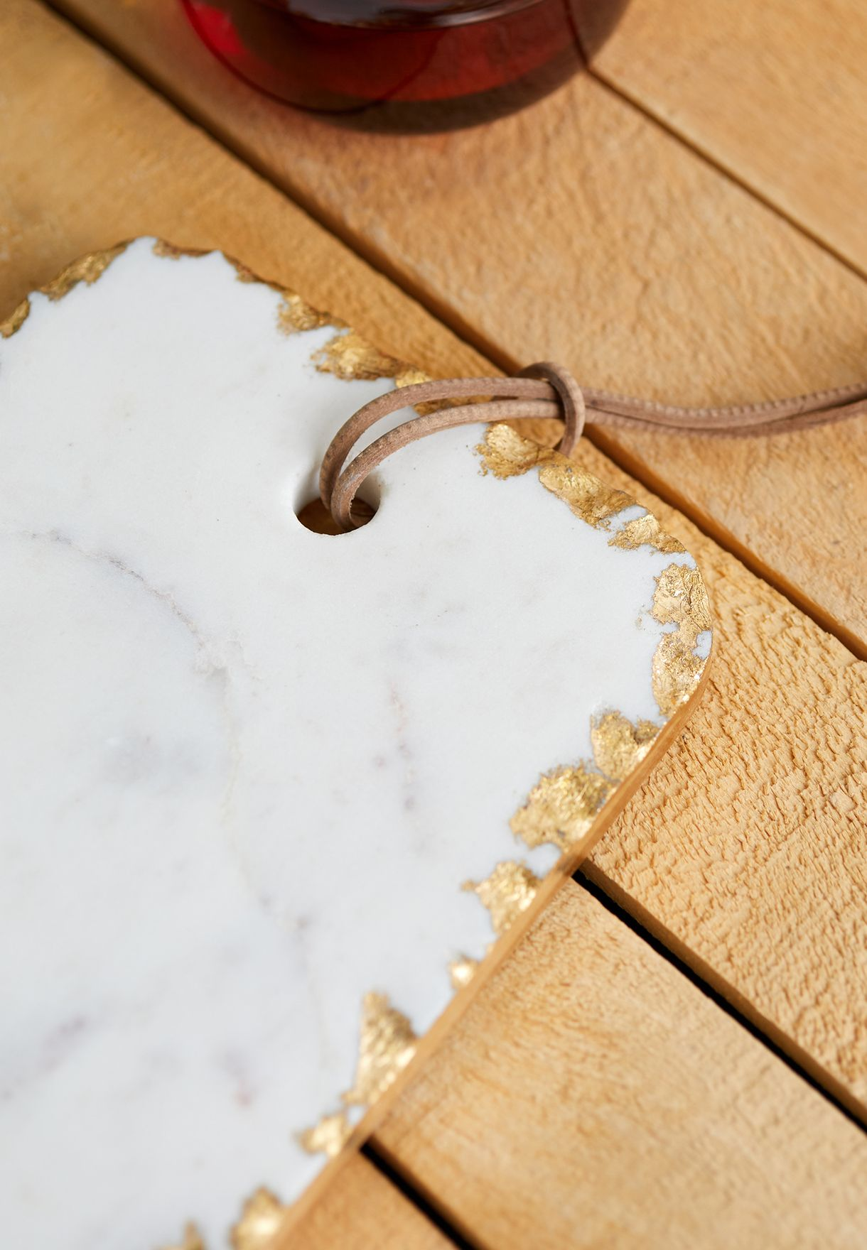 Marble & Gold Chopping Board