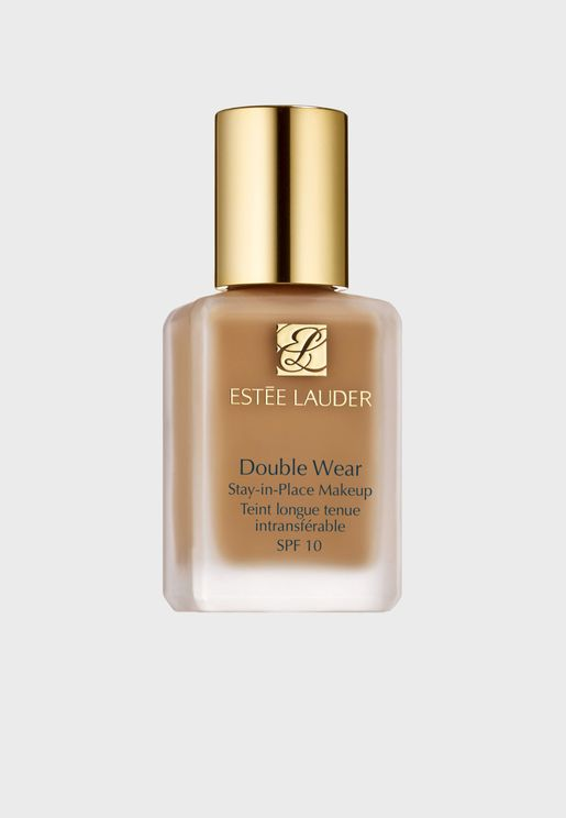 Double Wear Stay In Place Foundation- Pebble