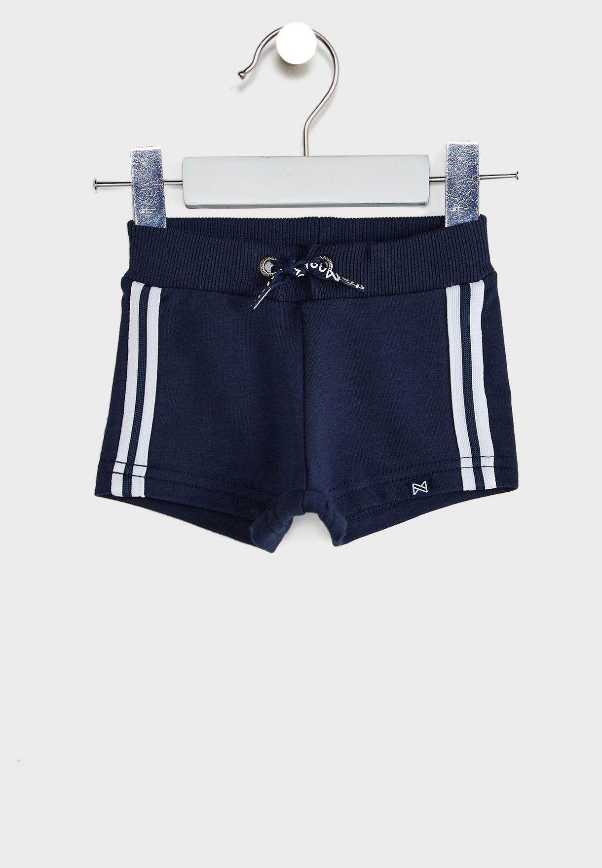 Kids Tie Waist Shorts