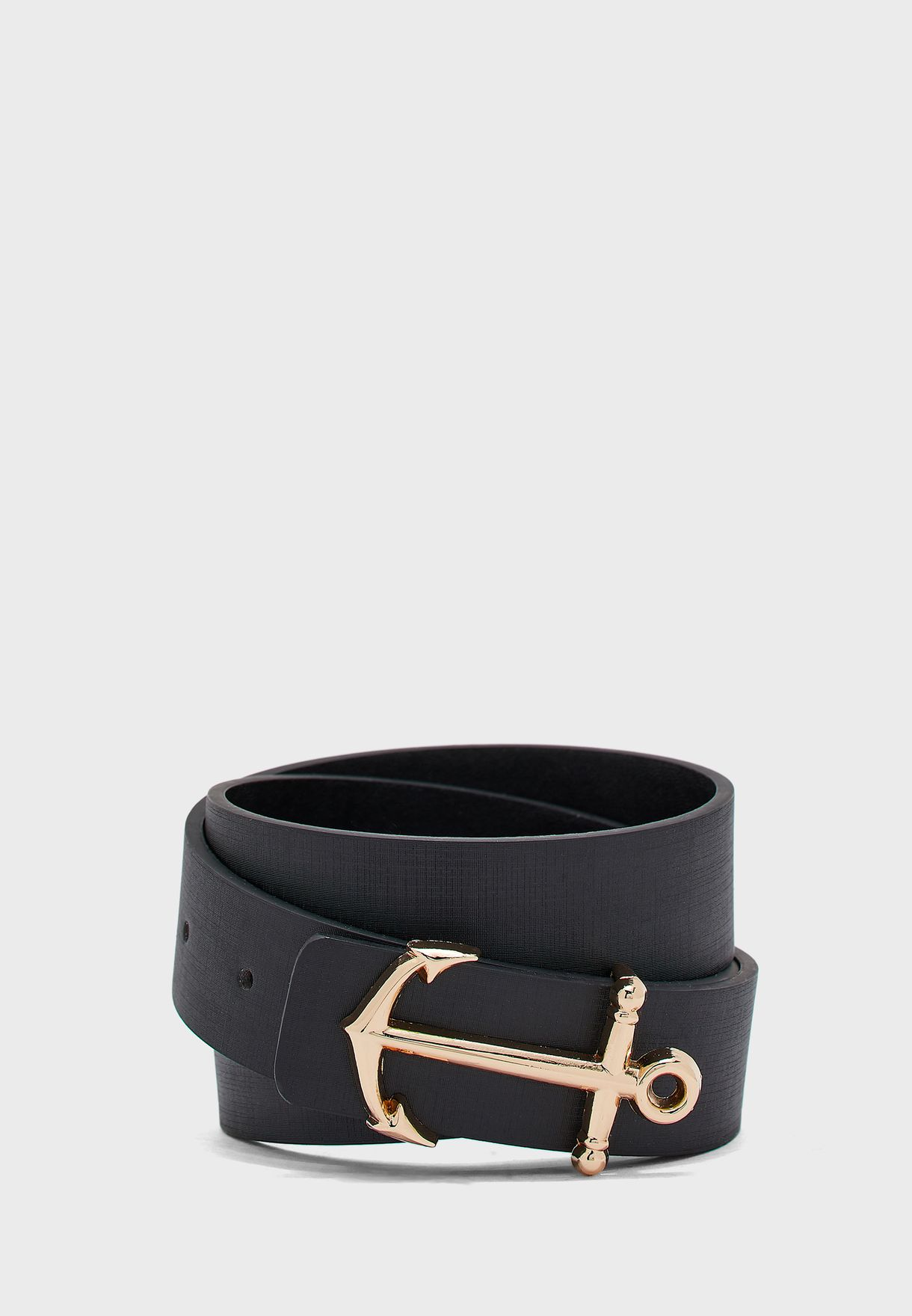 Anchor Buckle Casual Belt