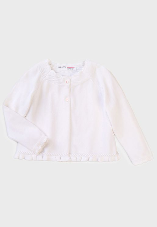 Infant Frill Hem Cardigan