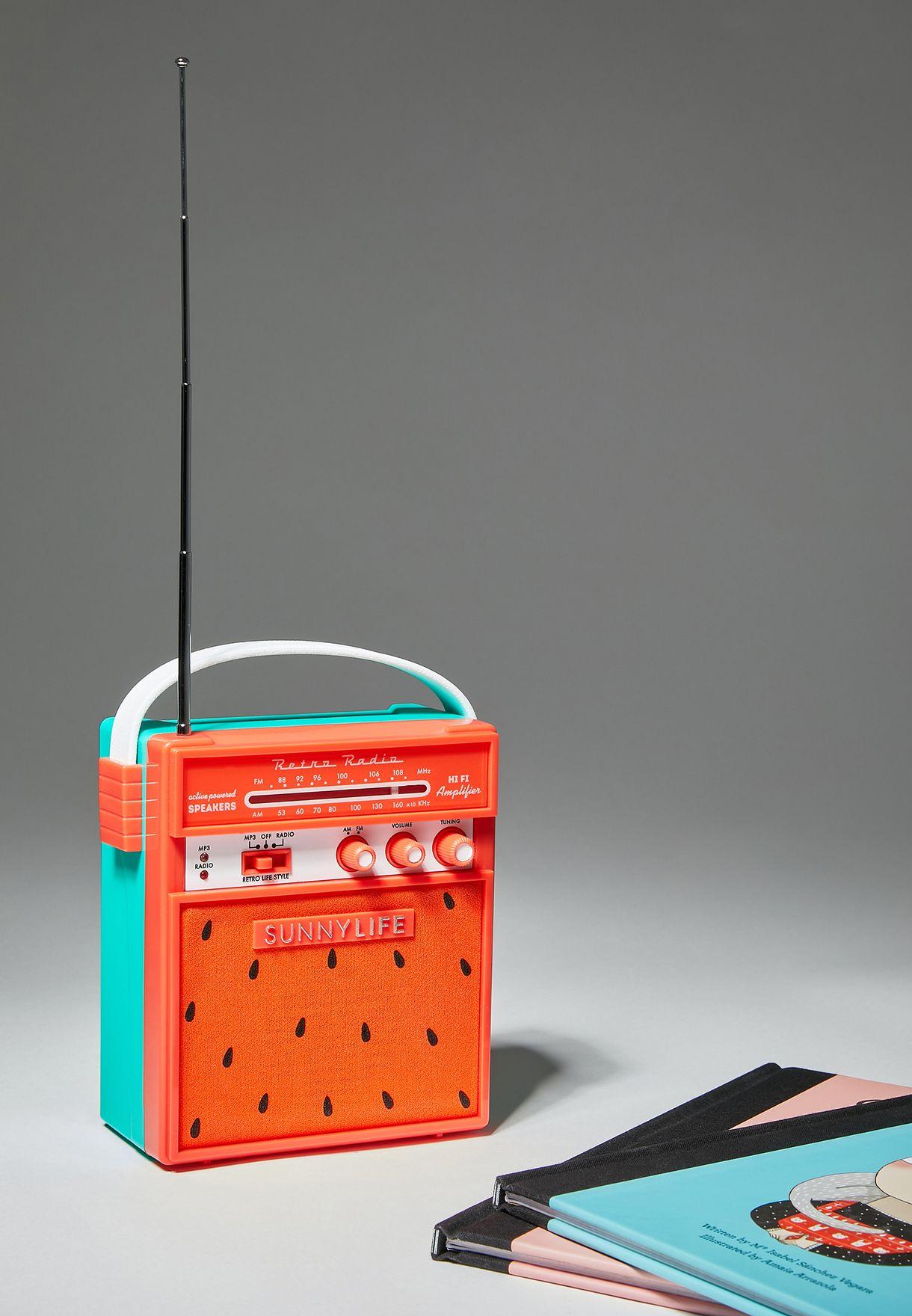 Watermelon Retro Speaker