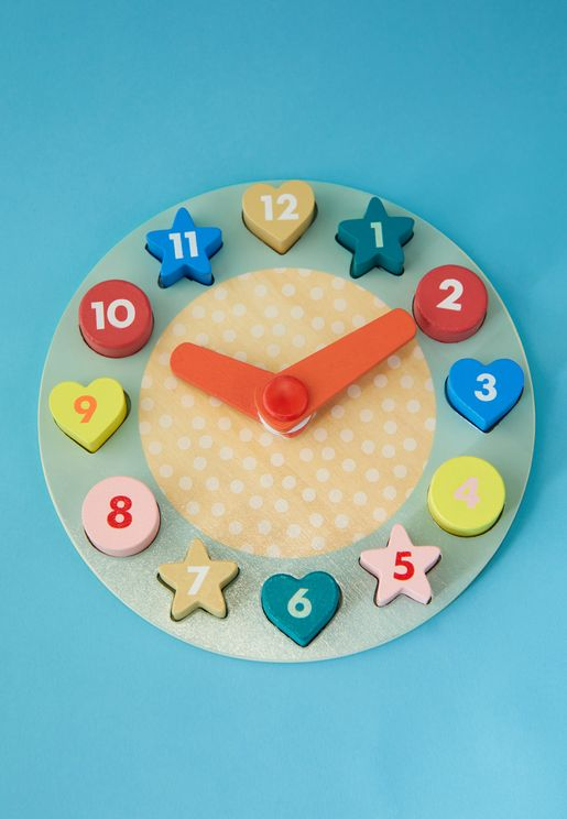 Kids Puzzle Clock Toy