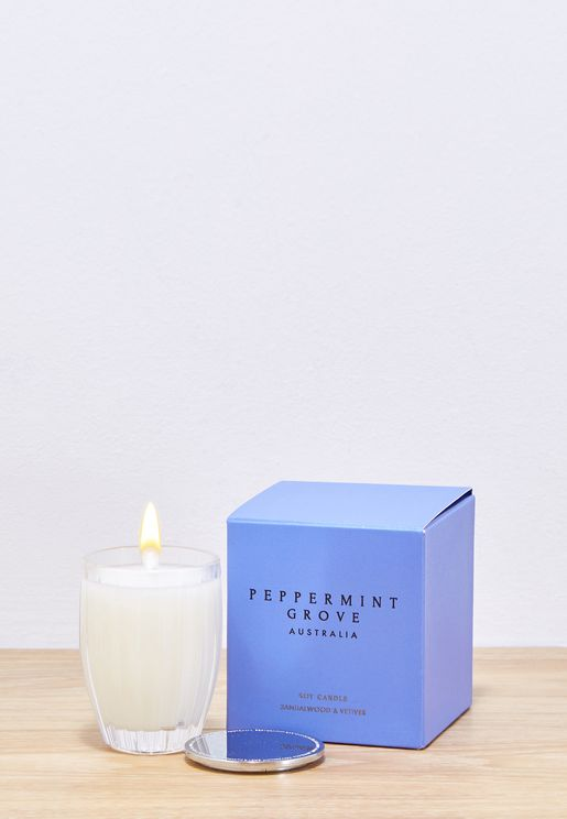 Sandalwood & Vetiver Scented Candle 60G