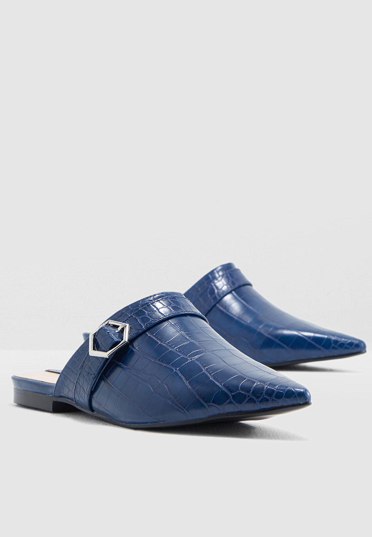 Binx Buckle Flat Shoe