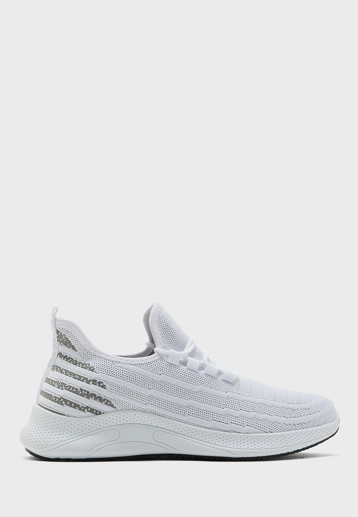 Knitted sneakers