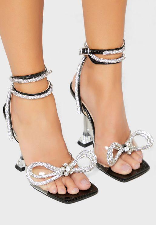 Glimmer High Heel Sandal