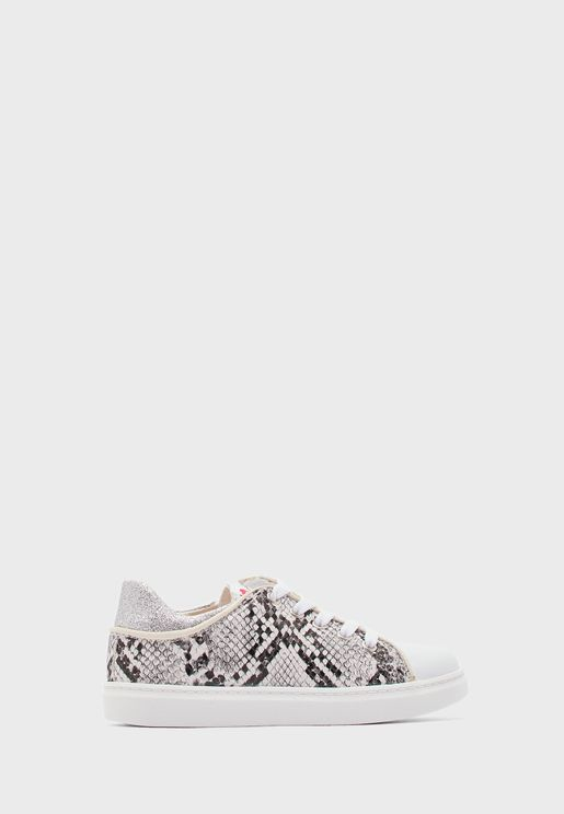 Youth Printed Sneaker