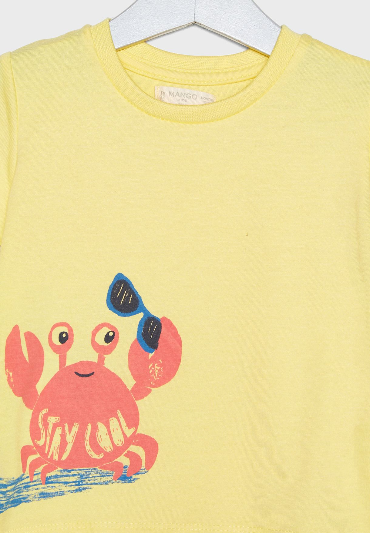 Infant Crab Graphic T-Shirt