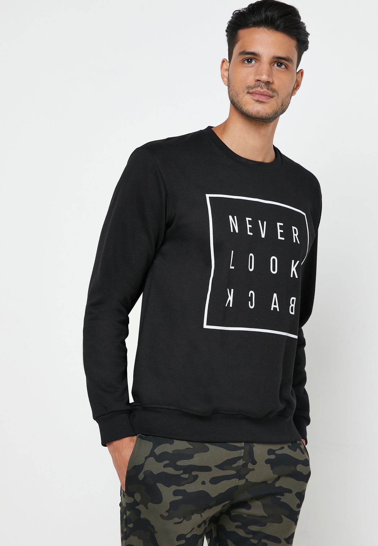 Never Look Back Sweater