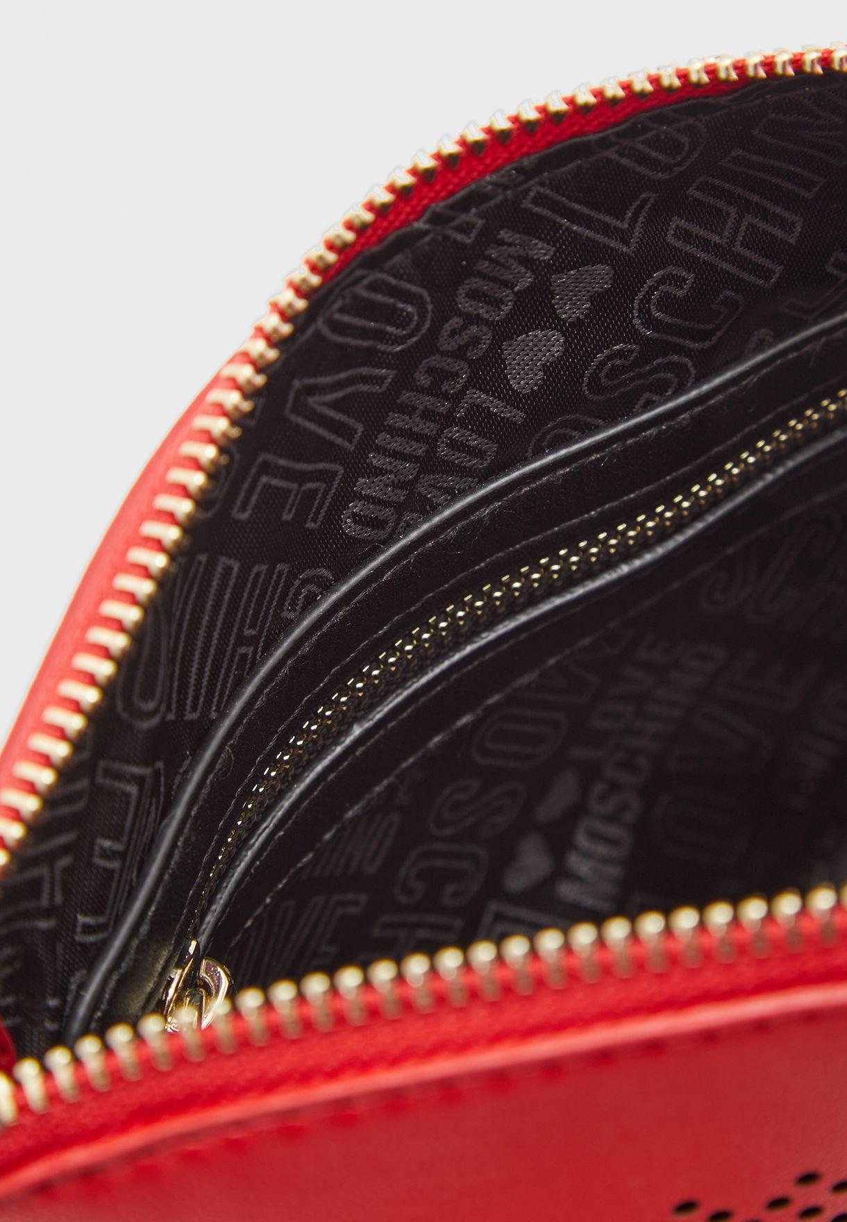 Zip Detail Crossbody