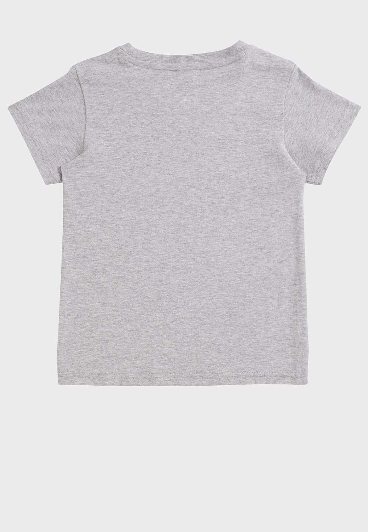 Youth Essential Stacked Logo T-Shirt