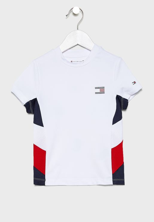 Kids Logo Colour Block T-Shirt