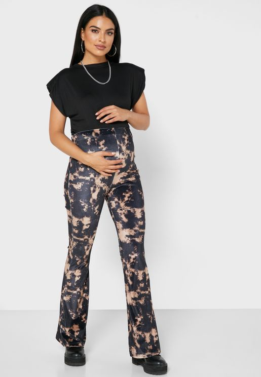 Tie Dye High Waist Pants