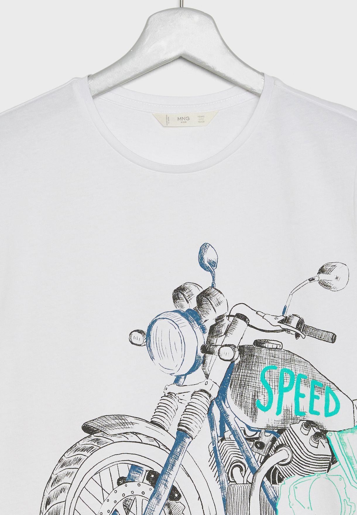 Kids Motorbike T-Shirt