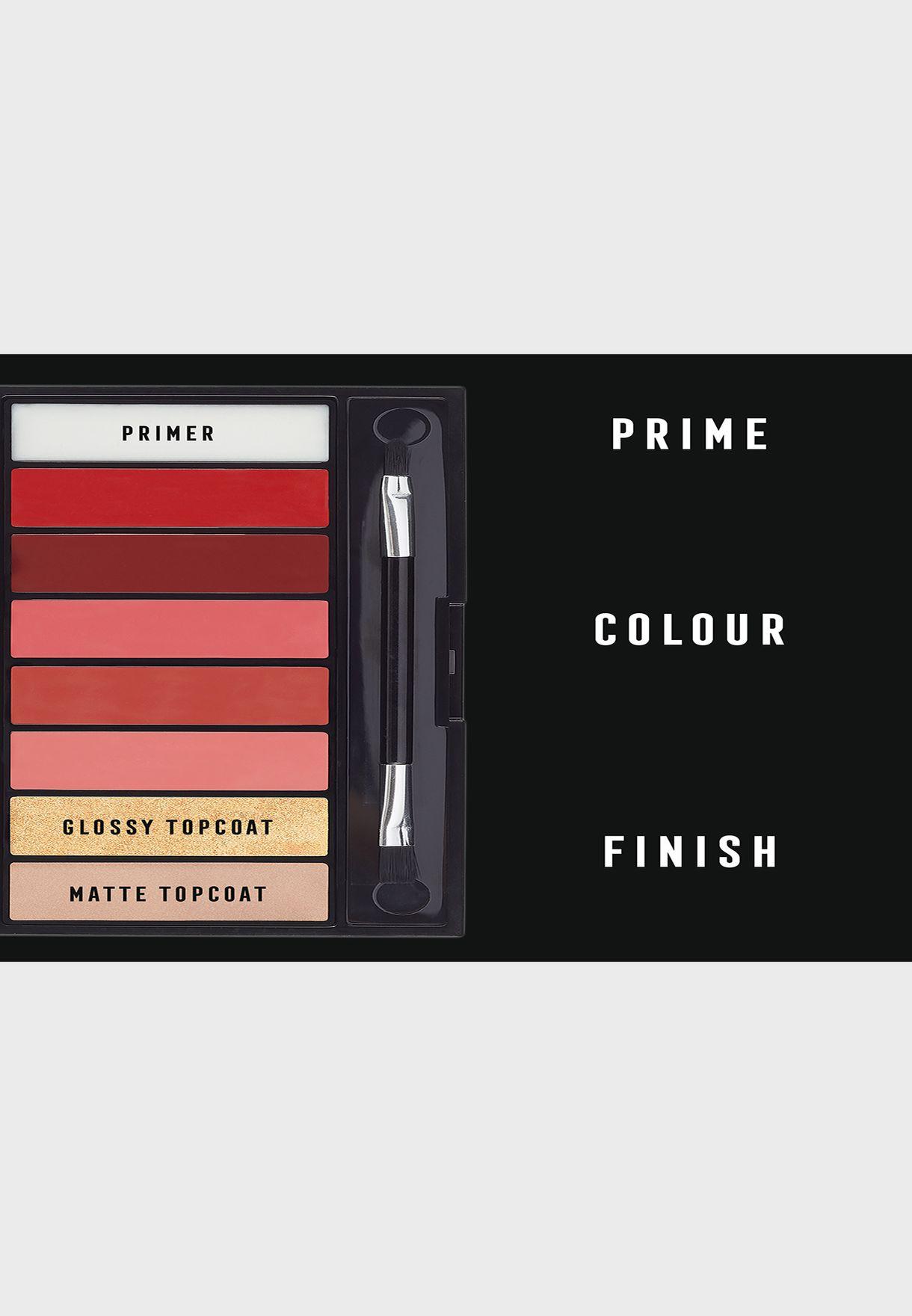 Max Factor Lipfinity Designer Palette 04 Reds, 12g