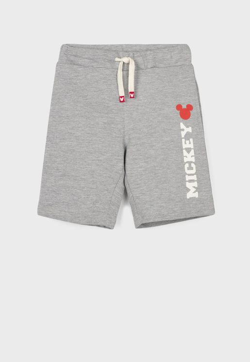 Kids Mickey Mouse Shorts