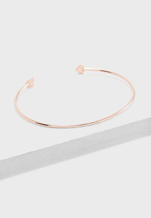 Carise Ultra Fine Cuff Bracelet