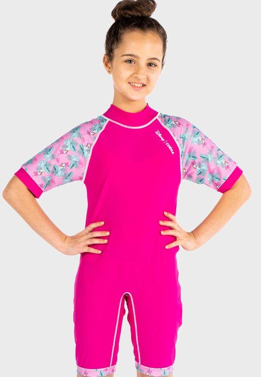 Youth Daisy Swim Suit