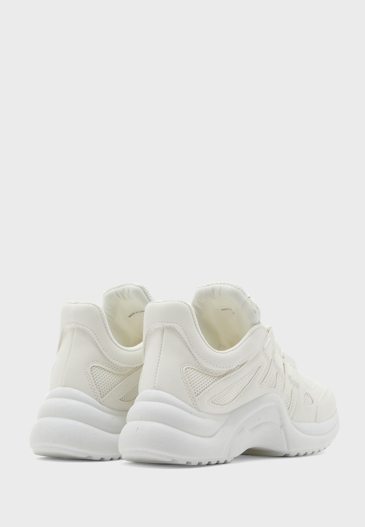 Curved Sole Low Top Sneaker
