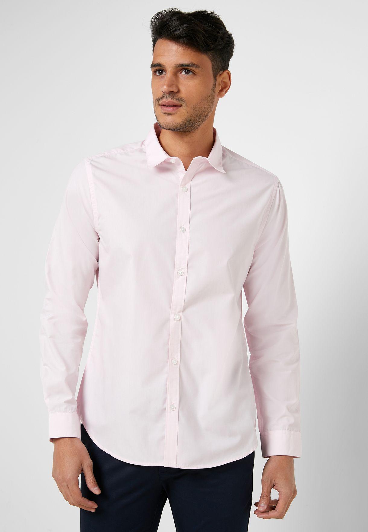 Poplin Slim Fit Shirt