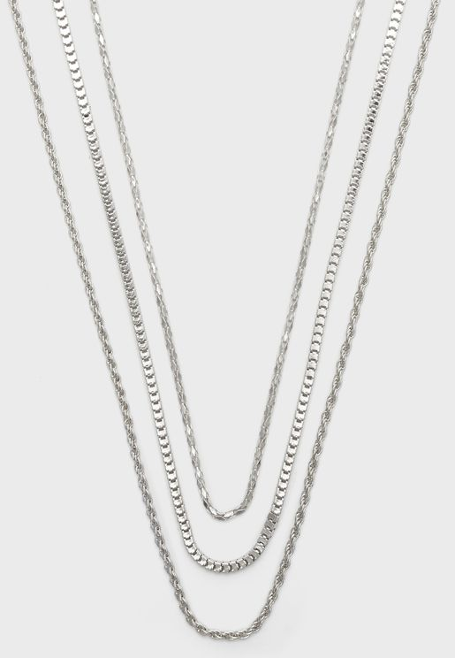 Zauvia Layered Chain Necklaces