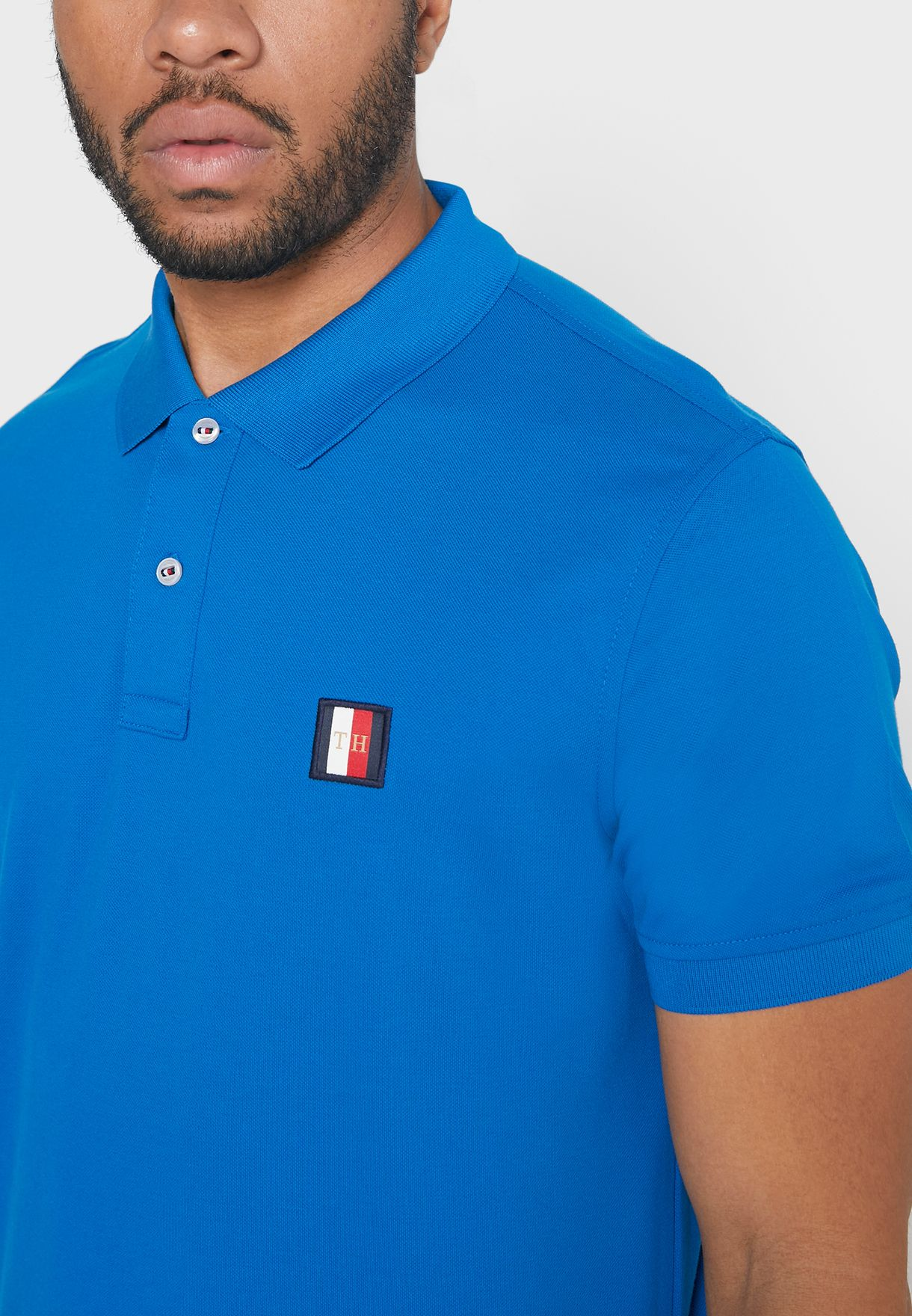 Icon Mini Badge Regular Fit Polo