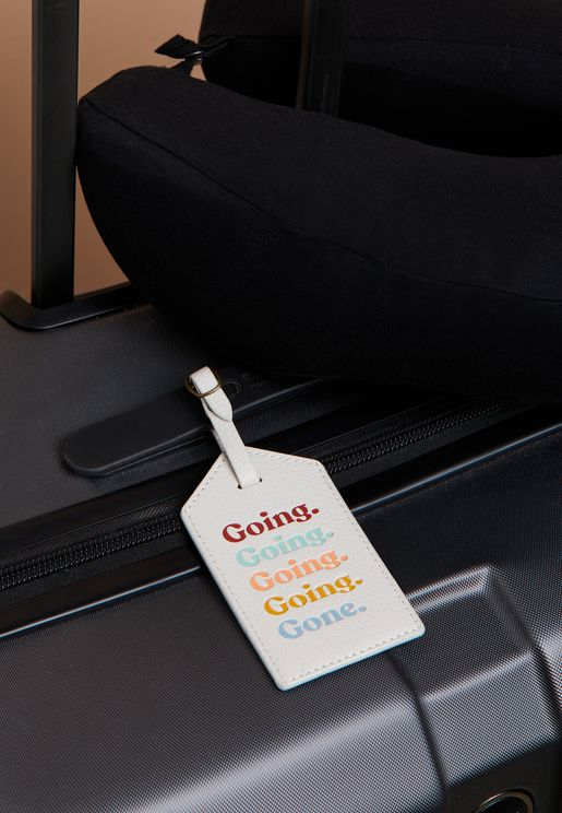 Going Luggage Tag