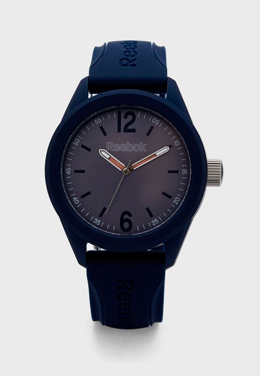 Spin Drop Silicon Strap Watch