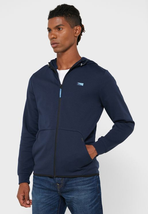 Air Zip Through Hoodie