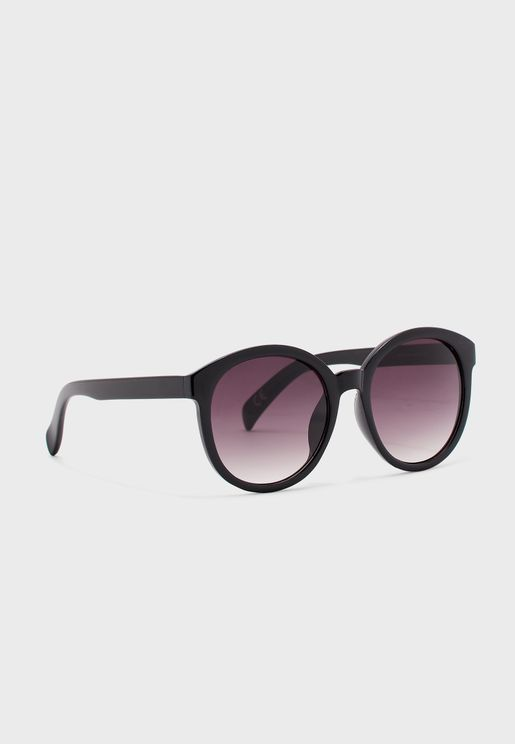 Ollie Backspray Round Sunglasses