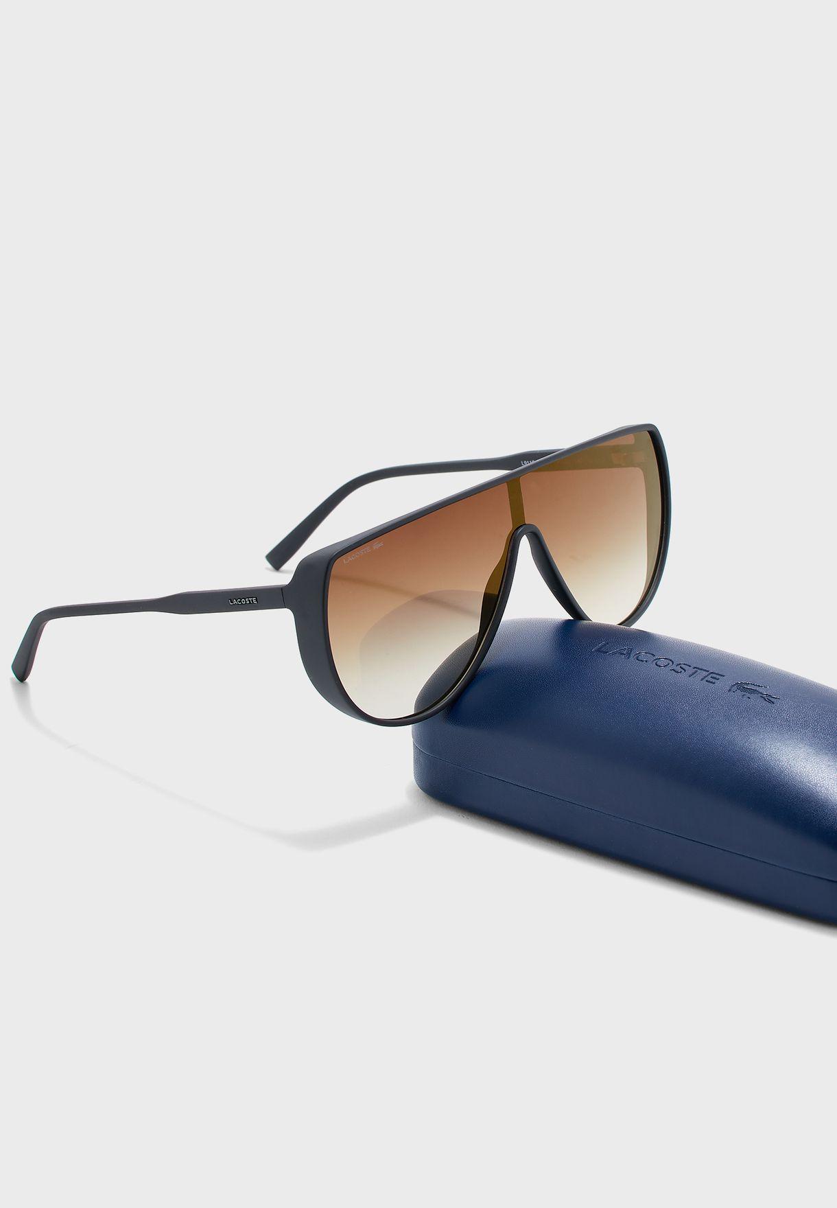 L911S Oversized Shield Sunglasses