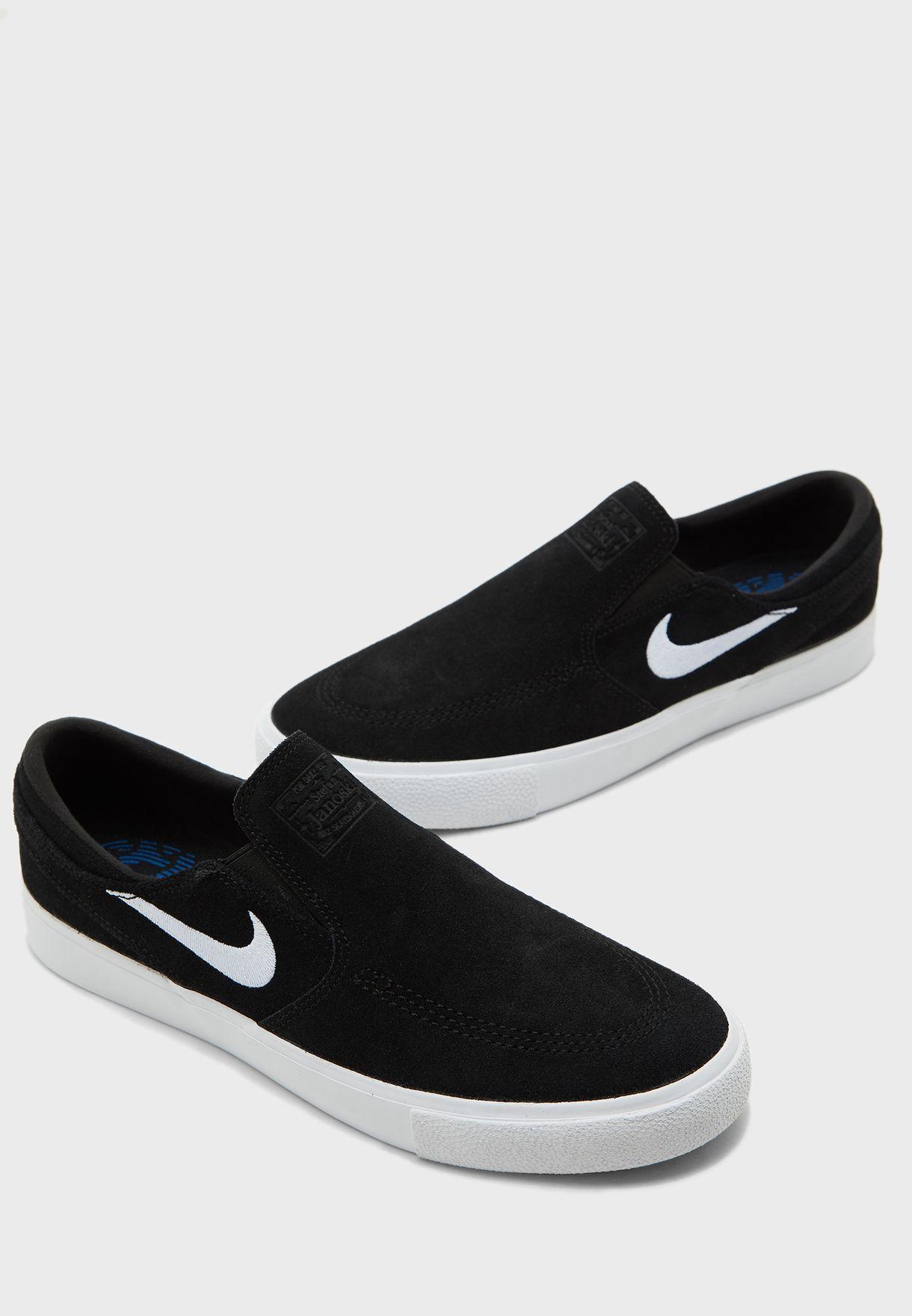 Buy Nike black SB Zoom Janoski Slip RM