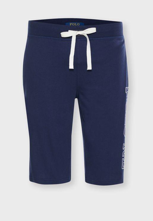 Drawstring Pyjama Shorts