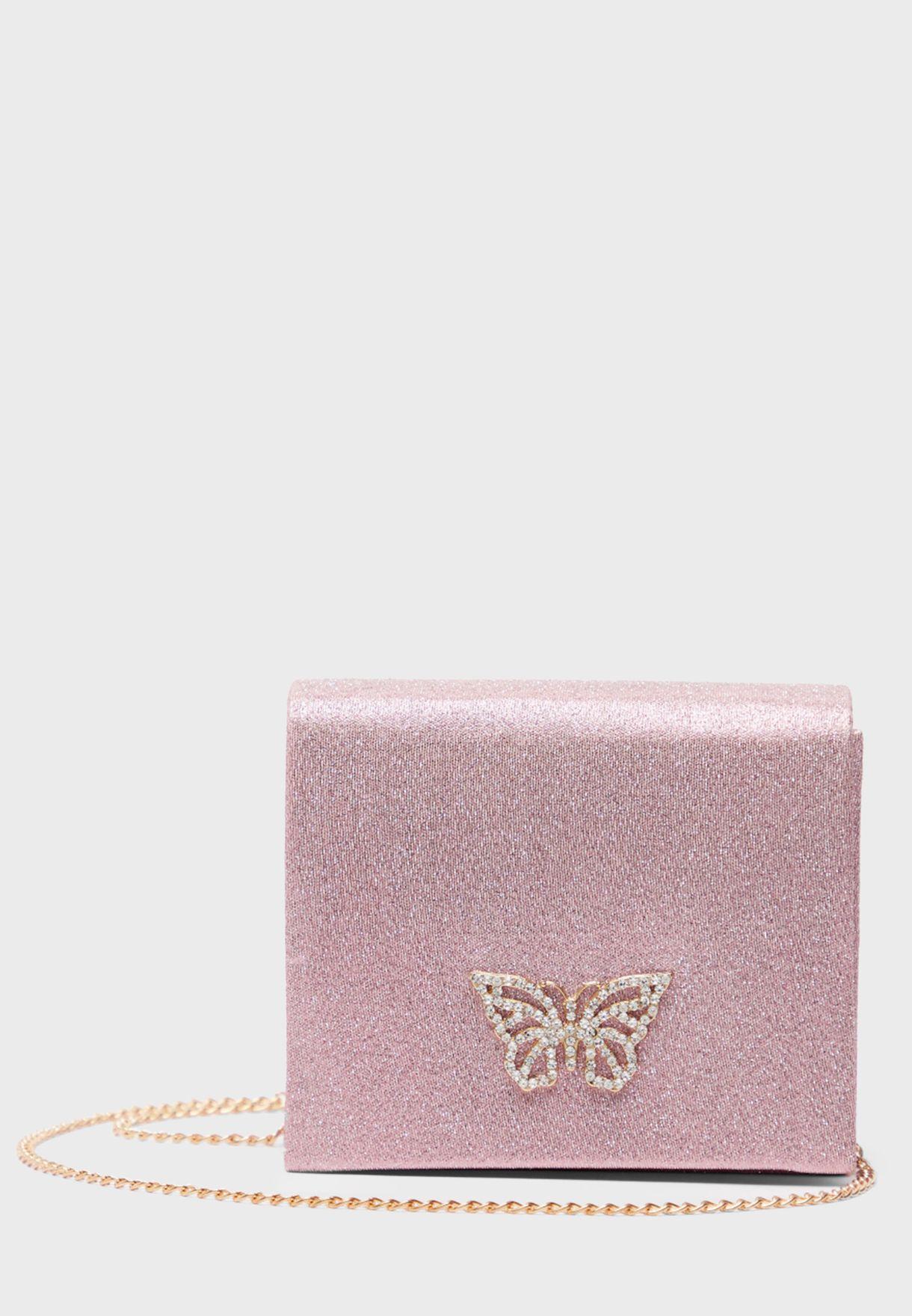 Kids Butterfly Detail Crossbody