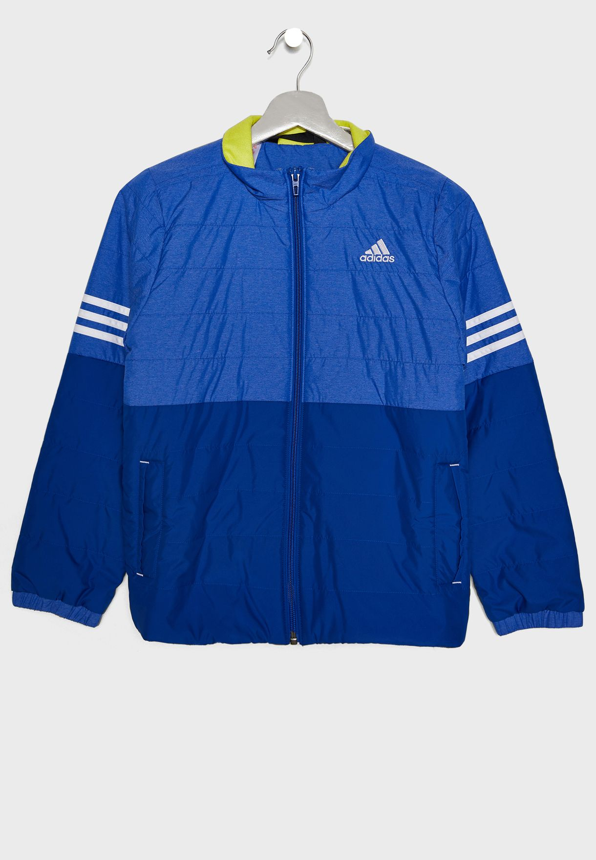 55a33ac9f Shop adidas blue Youth Padded Jacket DH4060 for Kids in UAE ...