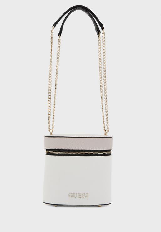 Nerea Round Zip Bucket Bag