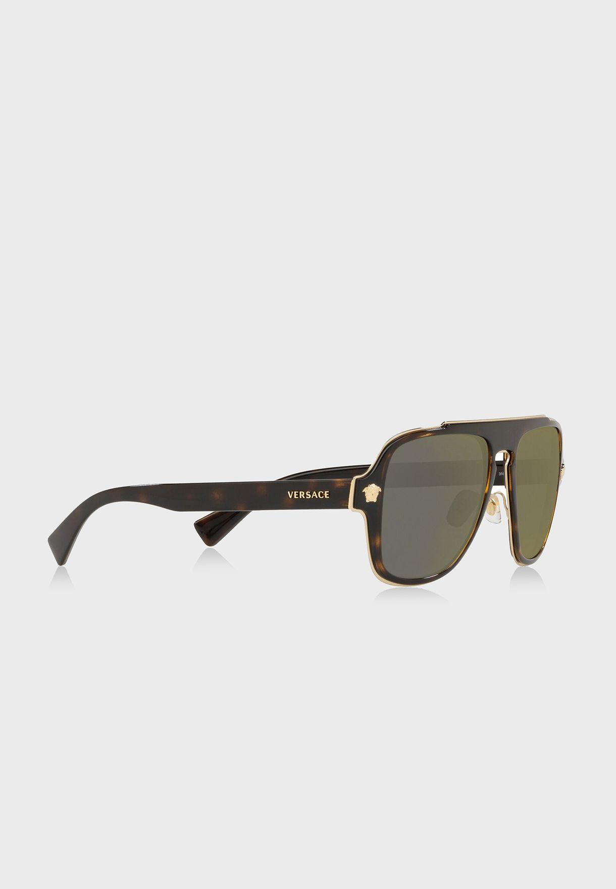 نظارة شمسية  مربعة 0VE2199