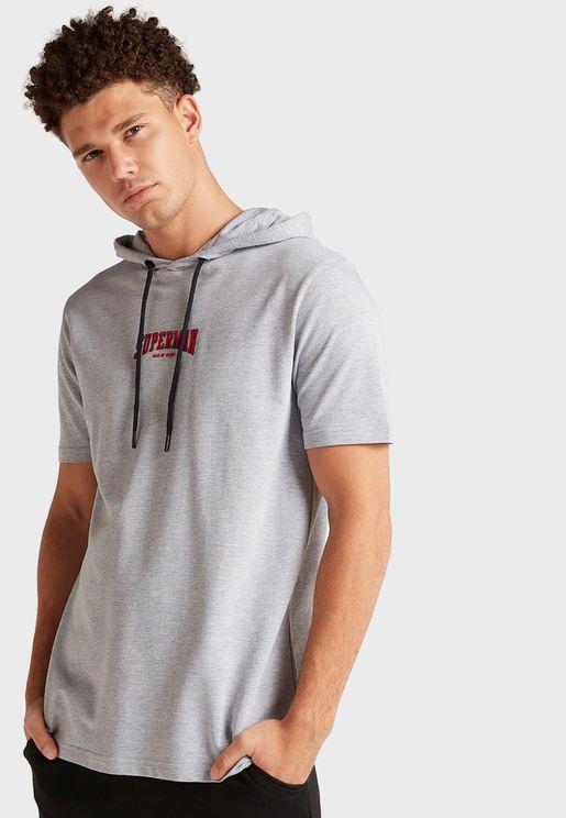 Superman Hooded T-Shirt