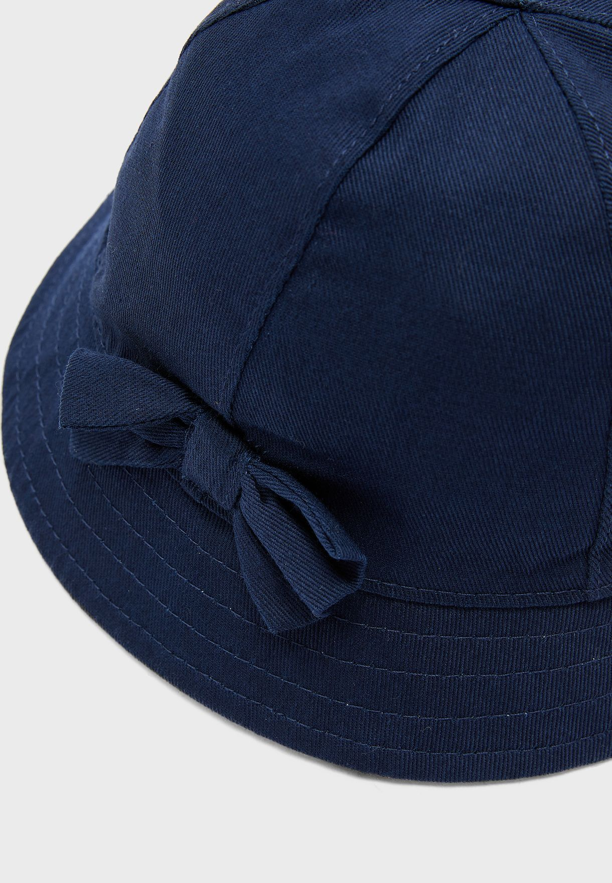 Kids Bow Detail Hat
