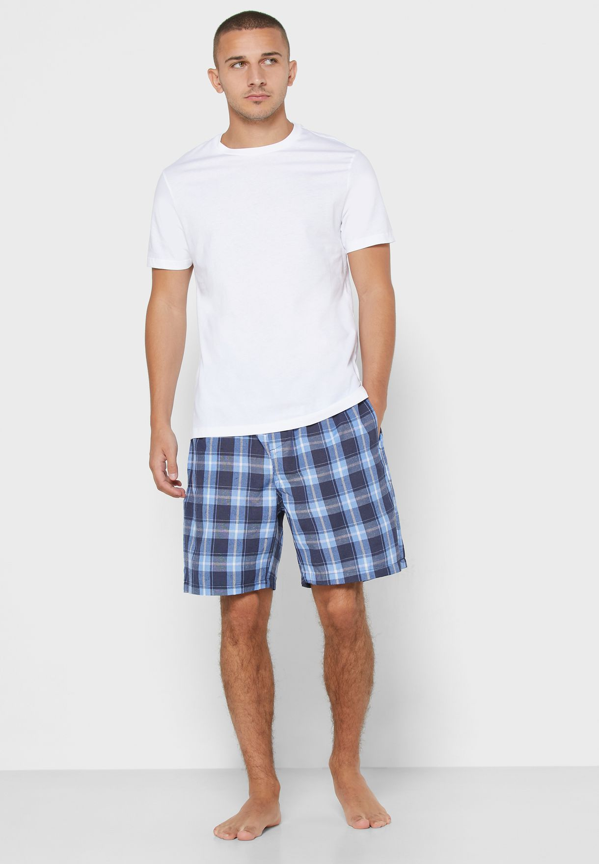 Two Pack Check Short