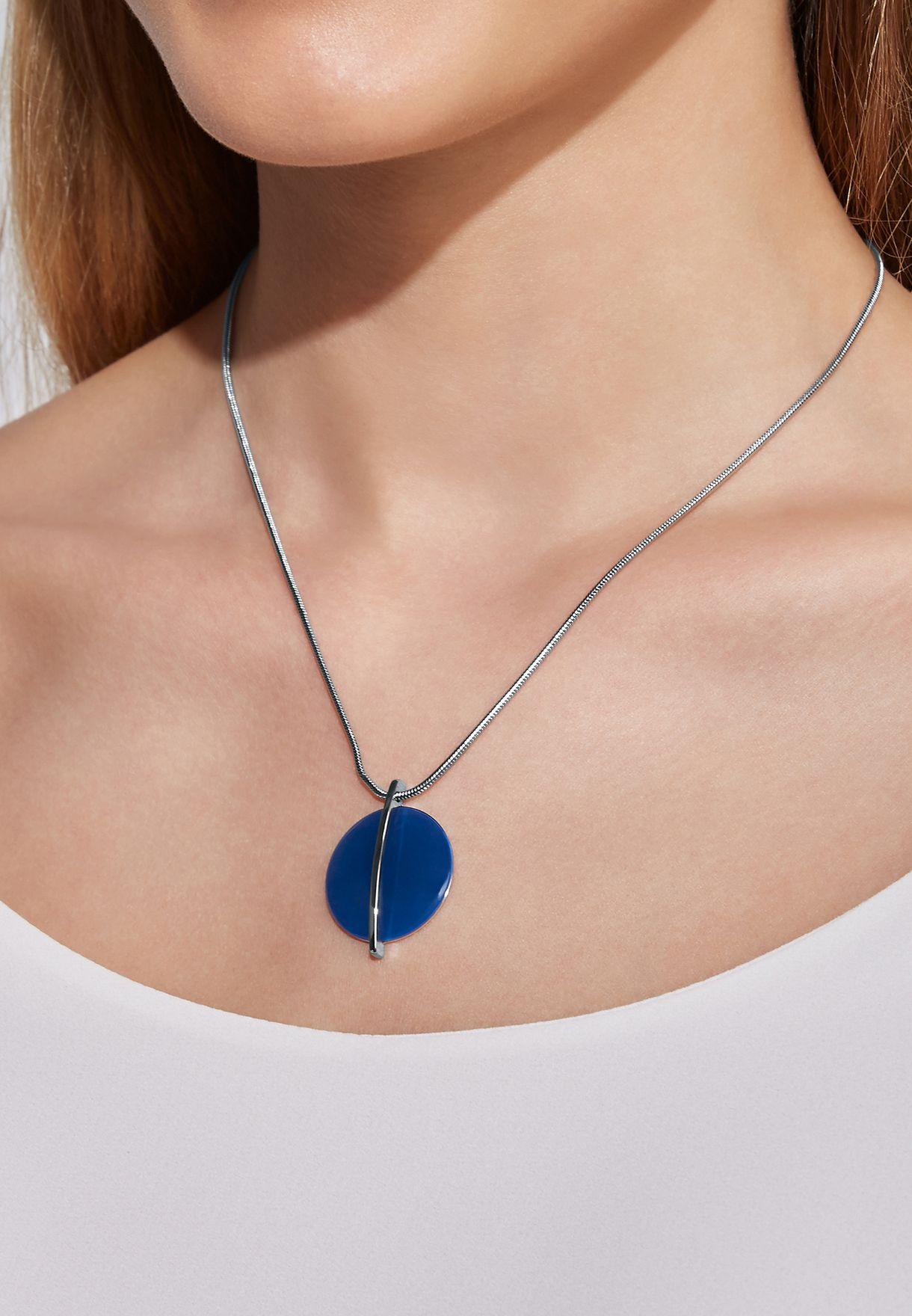 SKJ1296040 Sea Glass Necklace