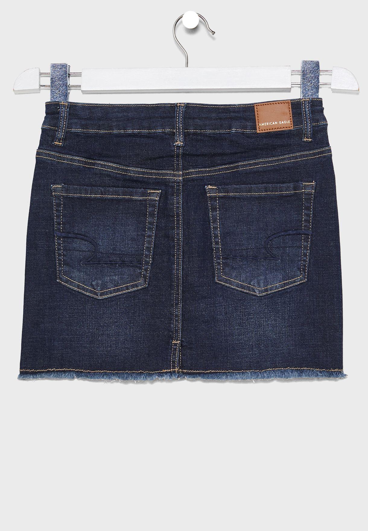 تنورة جينز للاطفال