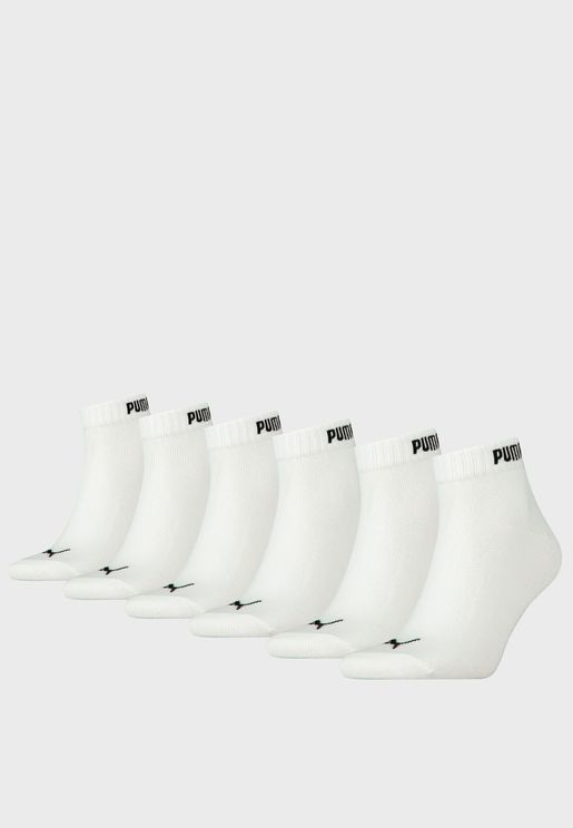 6 Pack Elements Quarter Socks