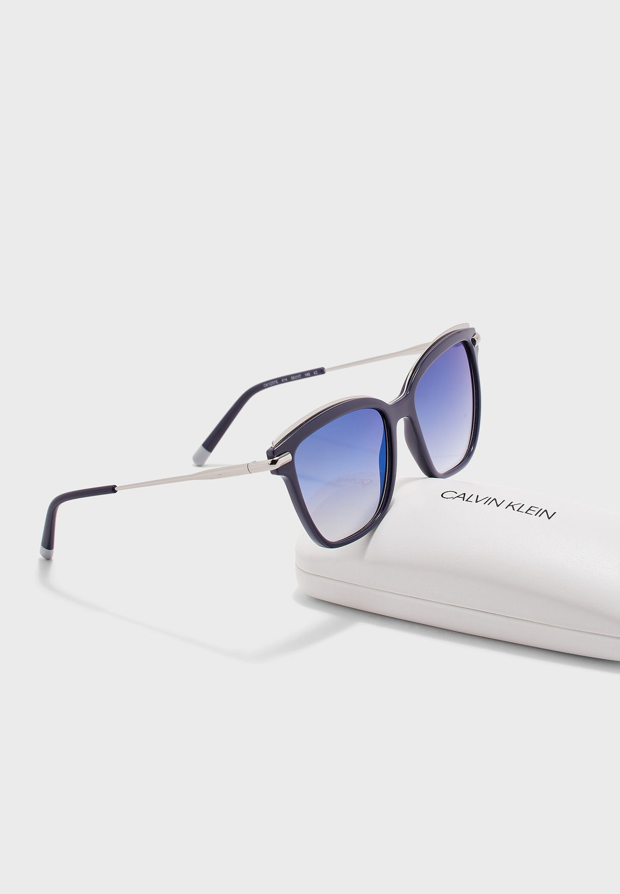 CK1237S Square Sunglasses