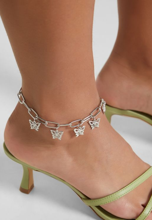 Butterfly Link Anklet
