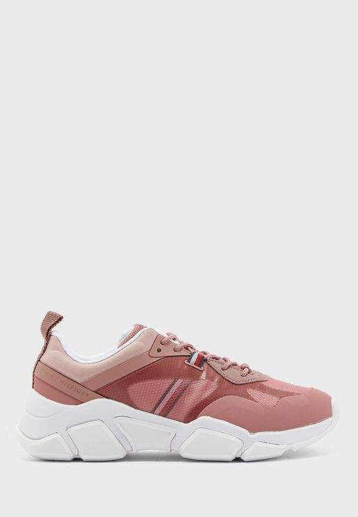 Technical Chunky Low Top Sneaker